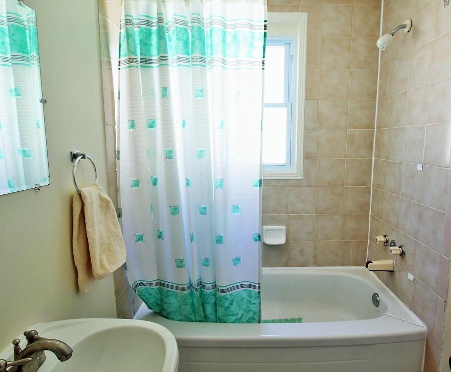 Santa Roca Cottage Bathroom Crystal Beach Cottage Rentals