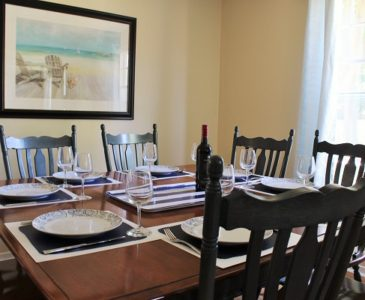 The Garden Cottage - Dining Room
