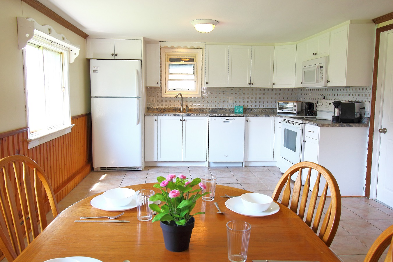 Kozy Kottage Kitchen (2) Crystal Beach Cottage Rentals