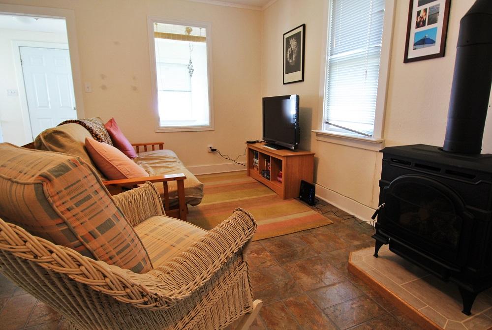 Santa Roca Cottage Living Room 3 (2) Crystal Beach Cottage Rentals