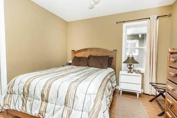 Zen By The Beach Bedroom 2 - Crystal Beach Cottage Rentals 2