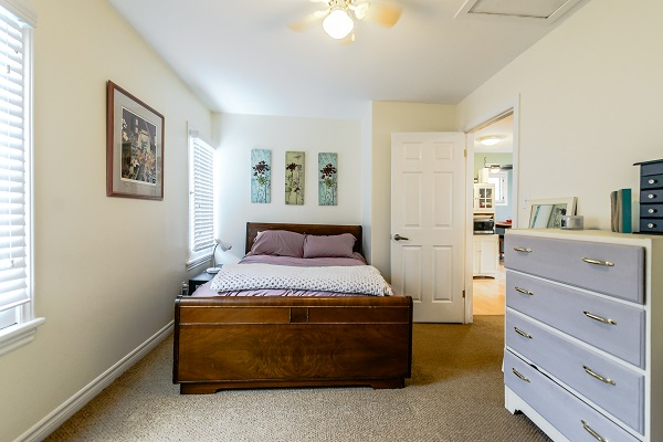 Bedroom 2 (double) - Shady Sands Retreat - Crystal Beach Cottage Rentals - Lake Erie