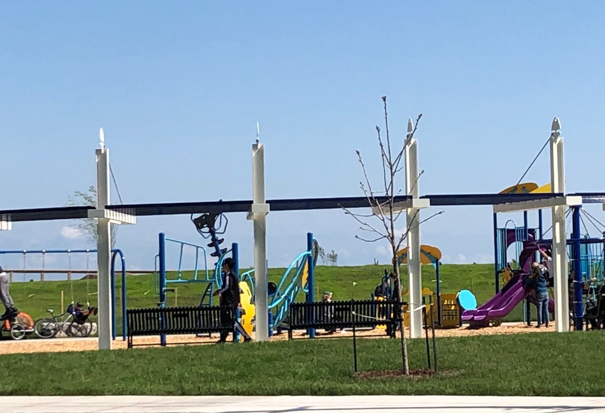 Bay Beach Kids Playground - Lake Erie Cottage Rentals