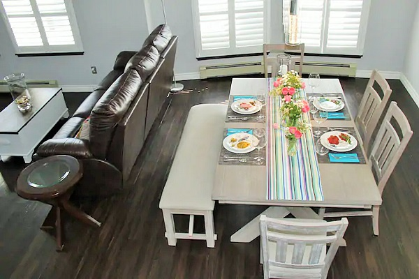 Benchview - Dining Room - Hot Tub, Swimming Pool, King Bed, Bench Brewery Beamsville