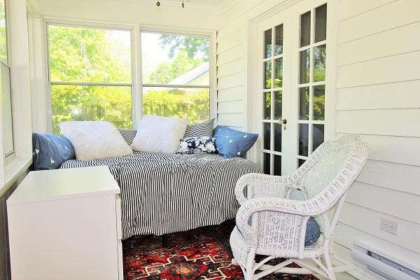 West Wind-enclosed porch1-Crystal Beach-HolidayHomesPropertyManagement