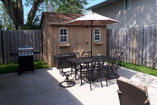 Orchard Shores - Patio 2 - Fort Erie ON - Vacation Rentals - Holiday Homes Property Management