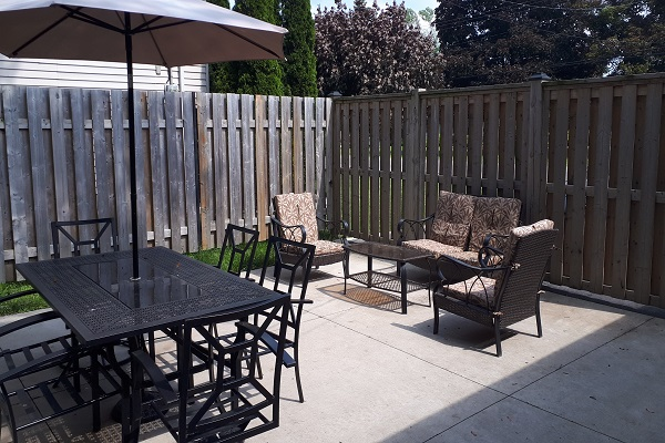Orchard Shores - Patio - Fort Erie ON - Holiday Homes Property Management