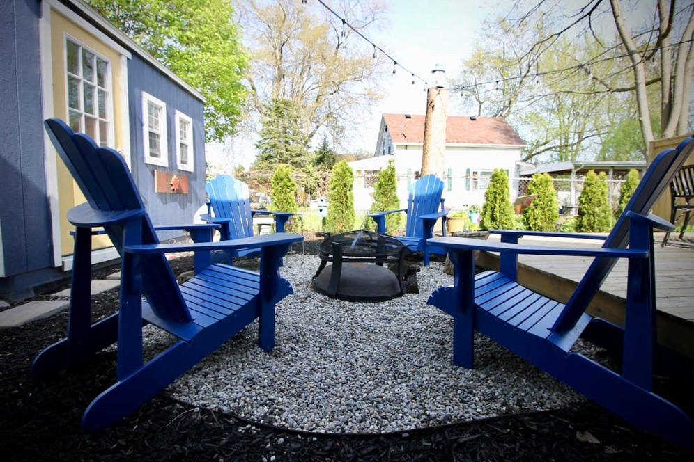 Home Away From Home-Fire Pit-Holiday Homes Property Management-Crystal Beach ON