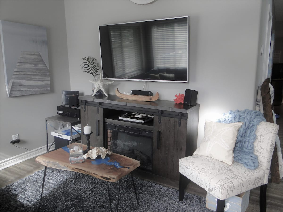 Home Away From Home-Living Room-Holiday Homes Property Management-Crystal Beach ON